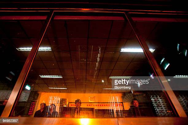 Workers monitor steel production at the China Oriental Group Co steel plant in Tangshan Hebei province China on Saturday Aug 29 2009 China Oriental...