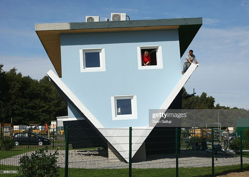 The Upside Down House upside down house nears completion photos and images | getty images