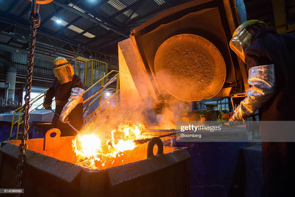 Slag Metal Scraps : Inside the foundry of weir minerals europe ltd getty images