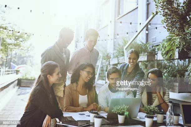 Werken als een team krijgt de gewenste resultaten