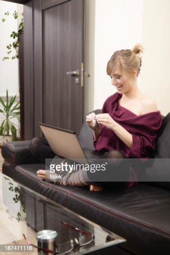 Lavoro a casa : Foto stock