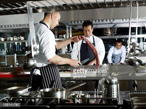 Working Chef : Stock Photo
