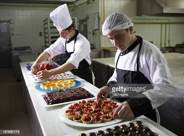 Working chefs