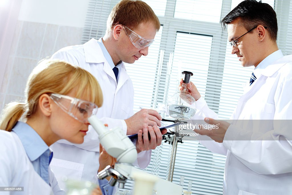 Working clinicians : Stock Photo