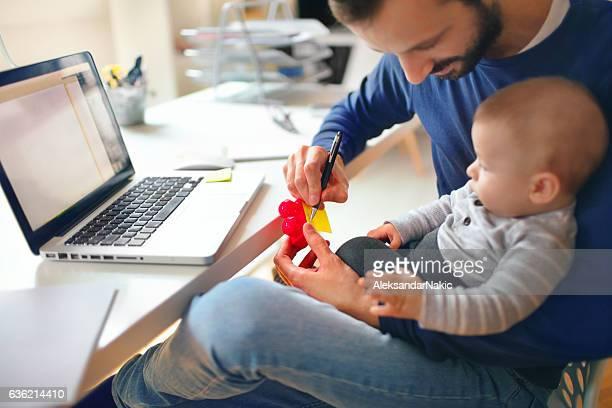 Working dad