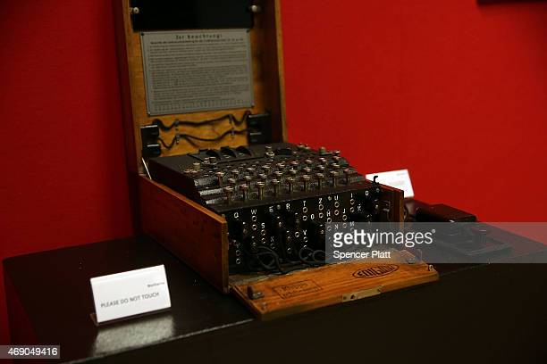 A working Enigma cipher machine that along with the 1942 56page notebook belonging to codebreaker Alan Turing is to be auctioned BonhamÕs auction...