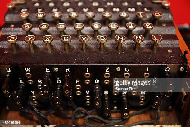 A working Enigma cipher machine that along with the 1942 56page notebook belonging to codebreaker Alan Turing is to be auctioned Bonham's auction...