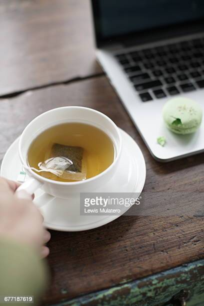 Working & Green Tea