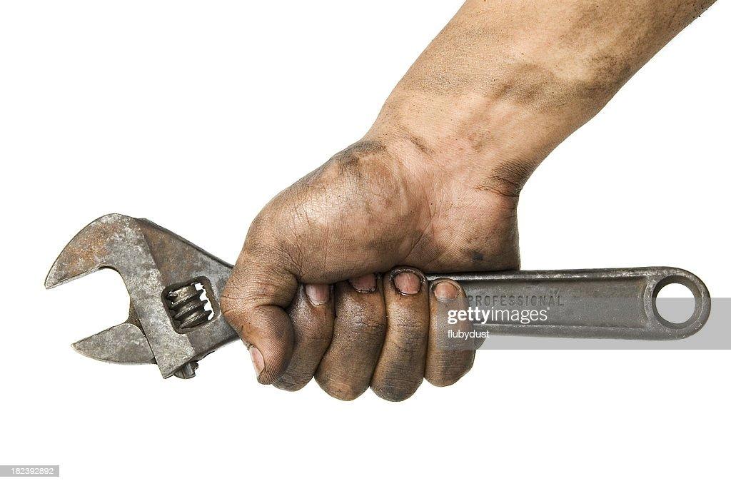 working hand