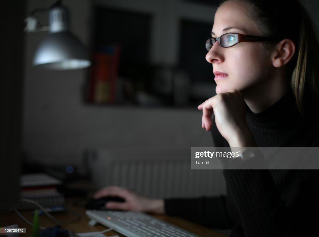 working late : Stock Photo