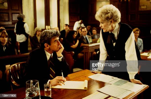 LAW ORDER 'Working Mom' Episode 14 Air Date Pictured Sam Waterston as Executive ADA Jack McCoy Elaine Stritch as Lanie Stieglitz