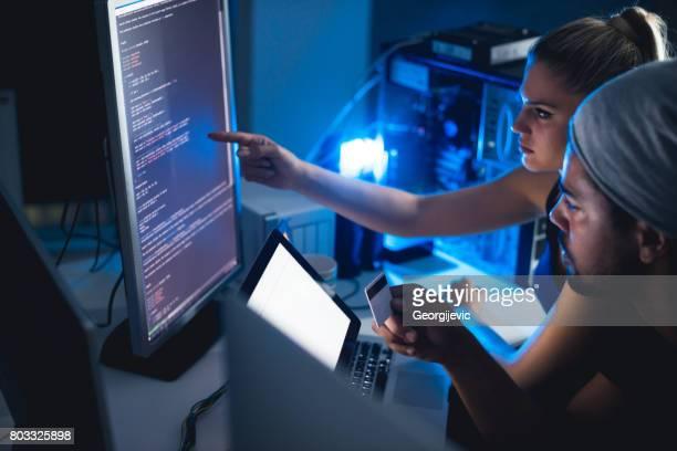 Werken aan een code