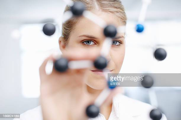 Working on finding the perfect molecular structure