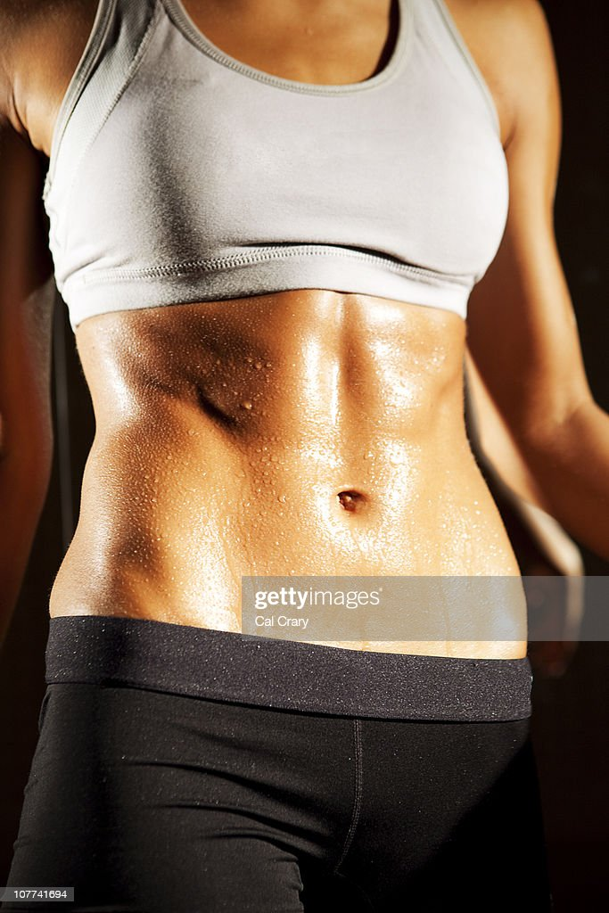 Working Out At The Gym : Stock Photo