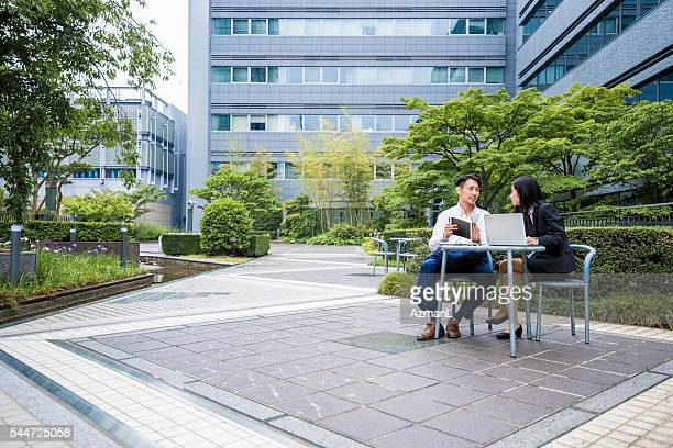 Working outdoors helps them to be more productive