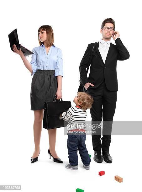 Trabalhar pais -, mas a sua mãe? Quero jogar!