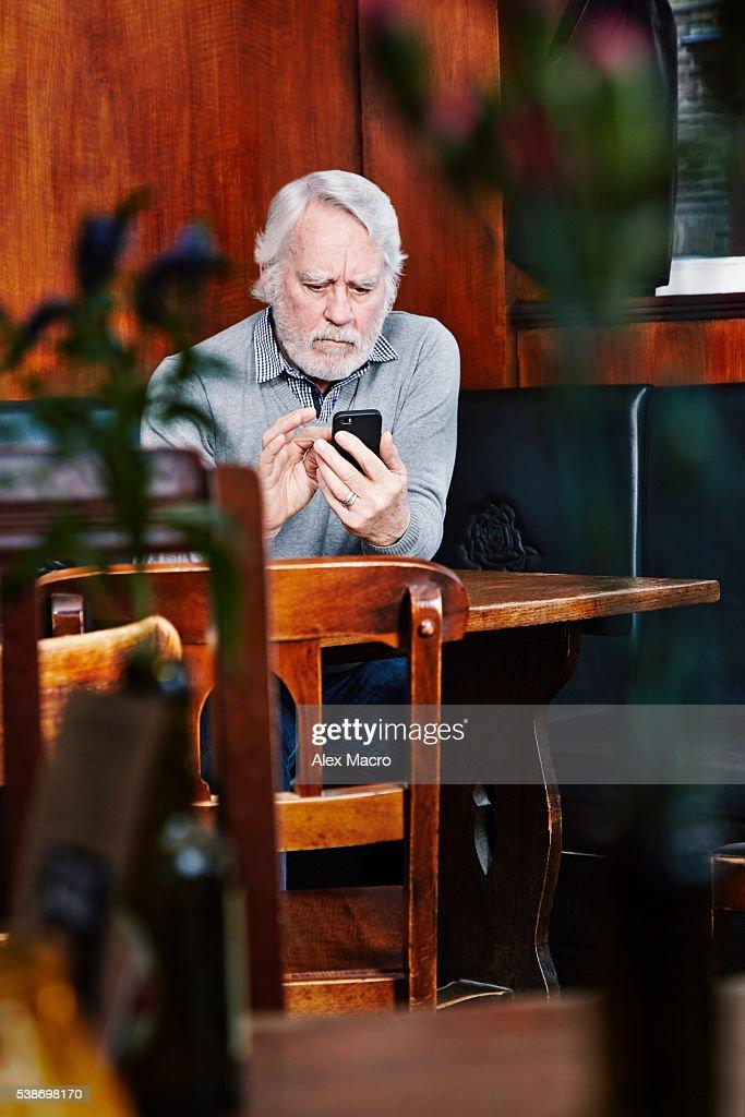 Working smart older gents.