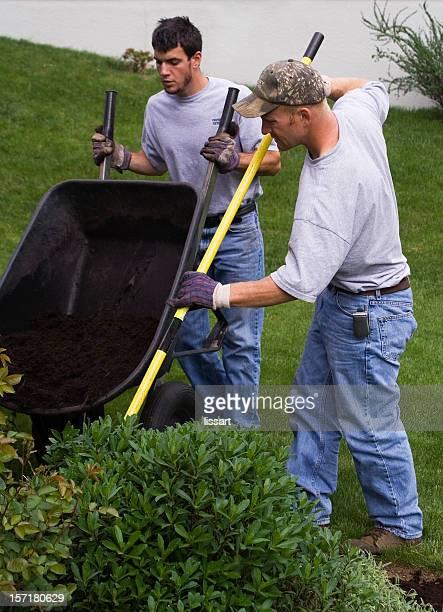 Working the Garden