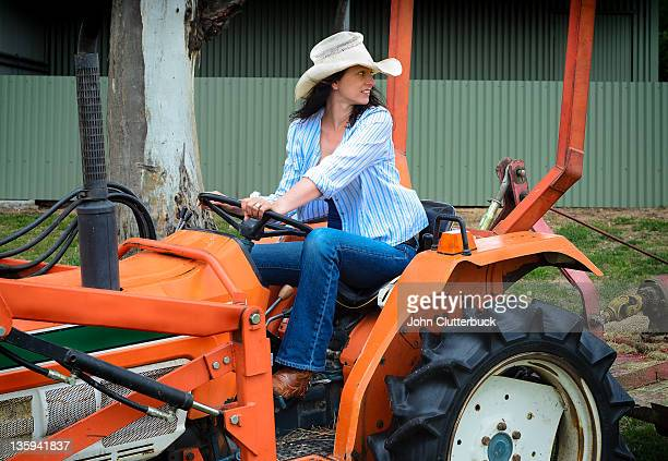 Working the Tractor