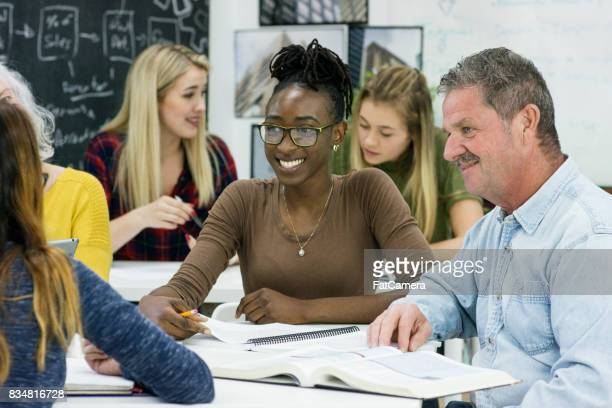 Working Together in an Adult Education Class
