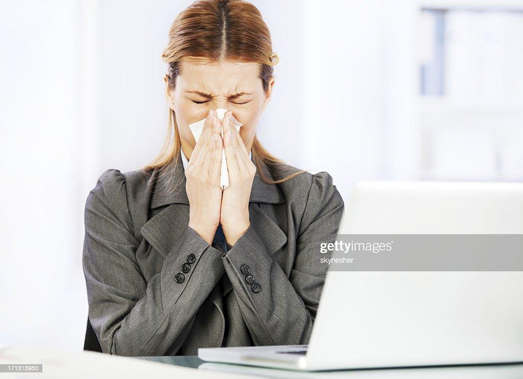 Working when sick.