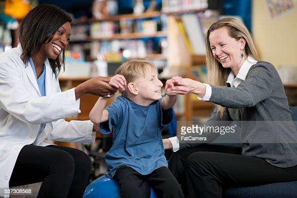 Working with a Physical Therapist