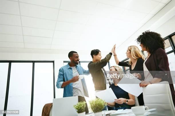 Werken met een positieve team heeft vele extraatjes