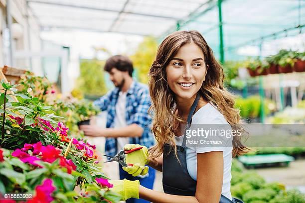 Trabajar con flores