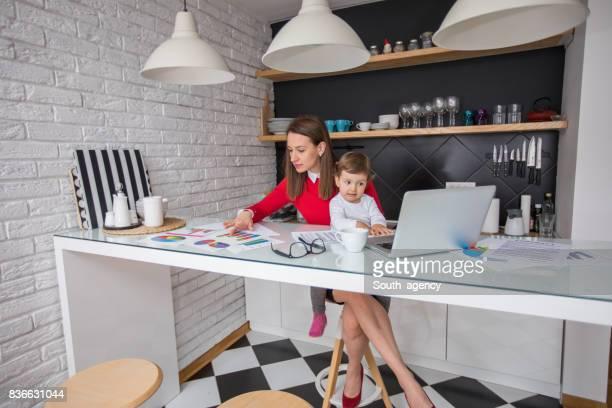 Arbeiten mit Mutter