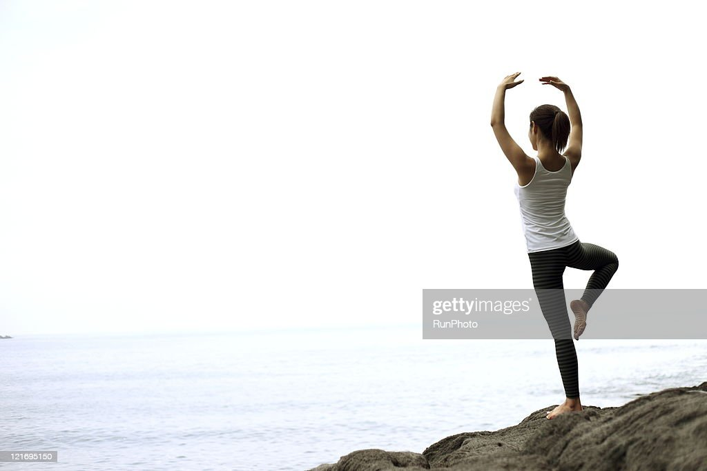 Workout Sports yoga : Stock Photo