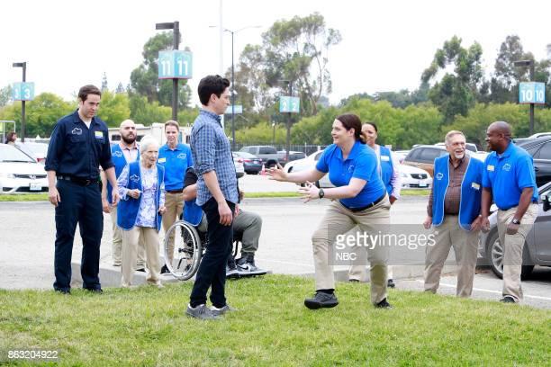SUPERSTORE 'Workplace Bullying' Episode 304 Pictured Jon Barinholtz as Marcus Linda Porter as Myrtle Ben Feldman as Jonah Lauren Ash as Dina