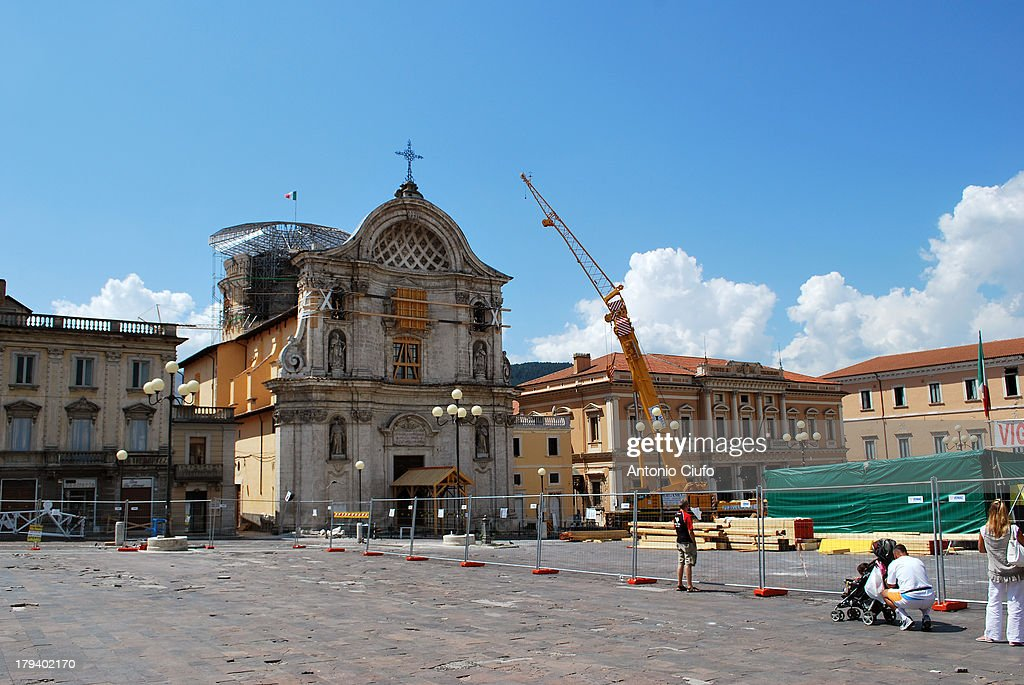 CONTENT] Works of static consolidation after the earthquake Piazza Duomo The L'Aquila earthquake of 2009 consists of a series of seismic events which...