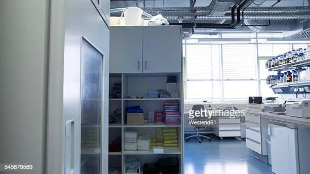 Workspace at biochemistry labroratory