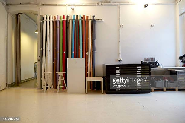 Workspace of a loft