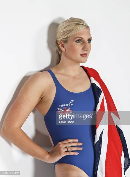 World and Olympic Champion Swimmer Rebecca Adlington poses during a photo session on September 7 2011 in Nottingham England