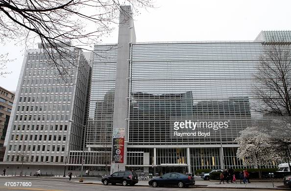 World Bank Group on April 10 2015 in Washington DC