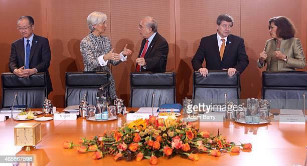 World Bank Group President Jim Yong Kim International Monetary Fund Managing Director Christine Lagarde Organisation for Economic Cooperation and...
