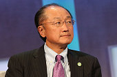 World Bank President Jim Yong Kim speaks during the 2015 Clinton Global Initiative Annual Meeting at Sheraton Times Square on September 28 2015 in...