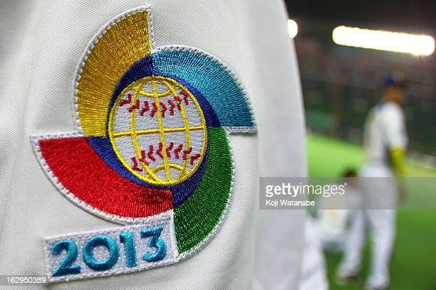 World Baseball Classic images the World Baseball Classic First Round Group A game between Brazil and Japan at Fukuoka Yahoo Japan Dome on March 2...