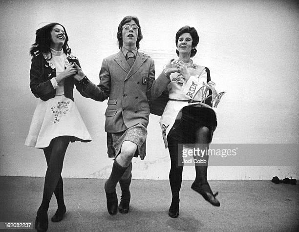 MAR 6 1975 MAR 8 1975 MAR 12 1975 World Champion Irish Dancer Performs Jim McShane dances with niece Lorraine Jones left and aunt MrsMary Jones in...