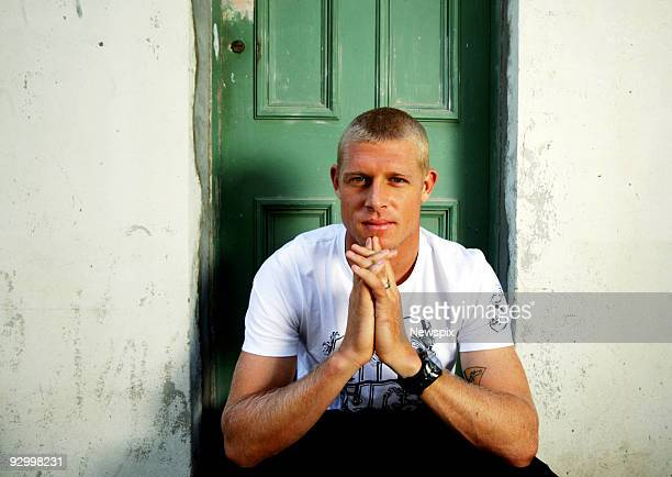 World Champion Surfer Mick Fanning in Surry Hills ahead of his book tour before he leaves for Hawaii to decide the winner of the 2009 World Champion...