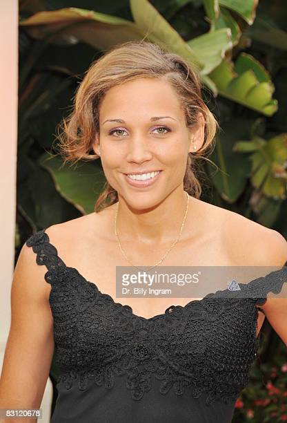 World Champion Track Athlete Lolo Jones arrives at the 'Ante Up For Autism' benefit for Talk About Curing Autism at the St Regis Monarch Beach Resort...