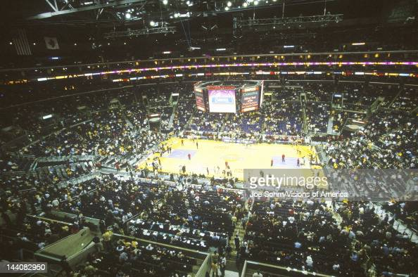 World Championship Los Angeles Lakers NBA Basketball Game Staples Center Los Angeles CA