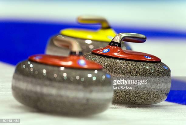 World Championships Curling Esbjerg Curling stones Lars Rønbøg / Frontzonesport