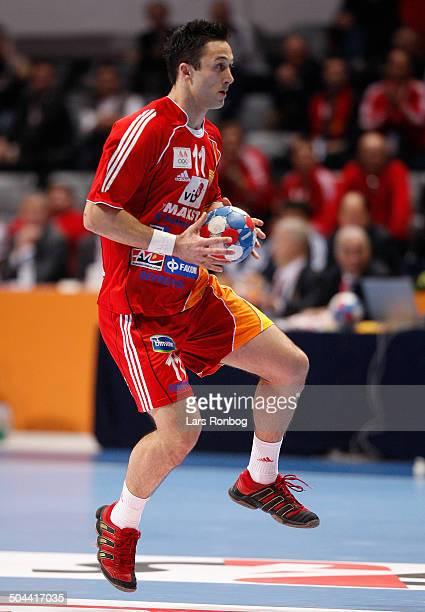 World Championships Handball in Croatia Vladimir Temelkov Makedonien / Macedonia © Lars Rønbøg / Frontzonesport