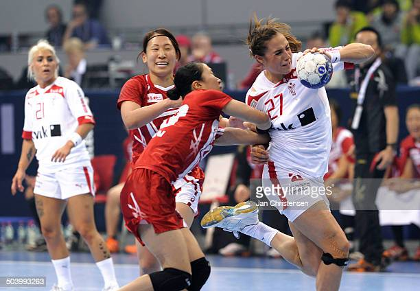 World Championships Womens Handball Japan vs Denmark Louise Katharina BURGAARD Danmark / Denmark © Jan Christensen Frontzonesport