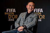 World Coach of the Year for Women's Football nominee Norio Sasaki women's coach of Japan attends a press conference prior to the FIFA Ballon d'Or...