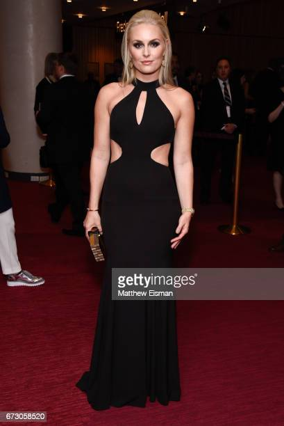 World Cup champion ski racer Lindsey Vonn attends 2017 Time 100 Gala at Frederick P Rose Hall Jazz at Lincoln Center on April 25 2017 in New York City