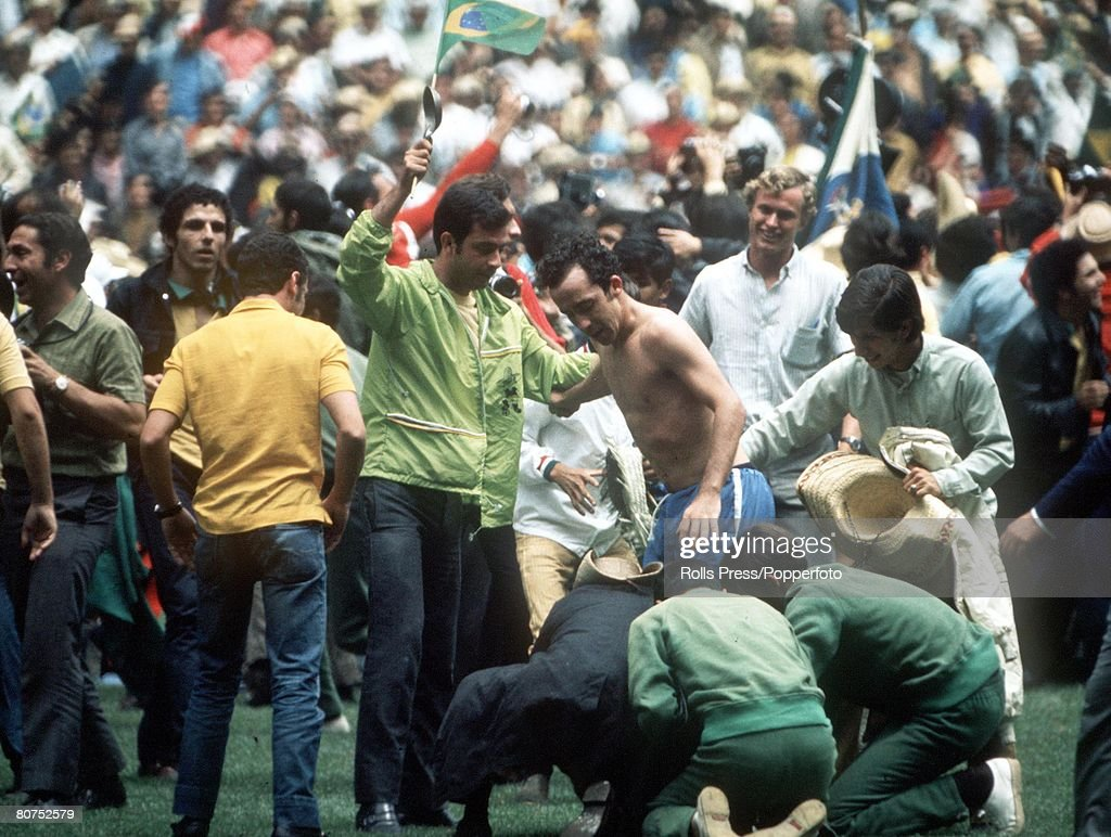 World Cup Final 1970 Mexico City Mexico 21st June 1970 Brazil