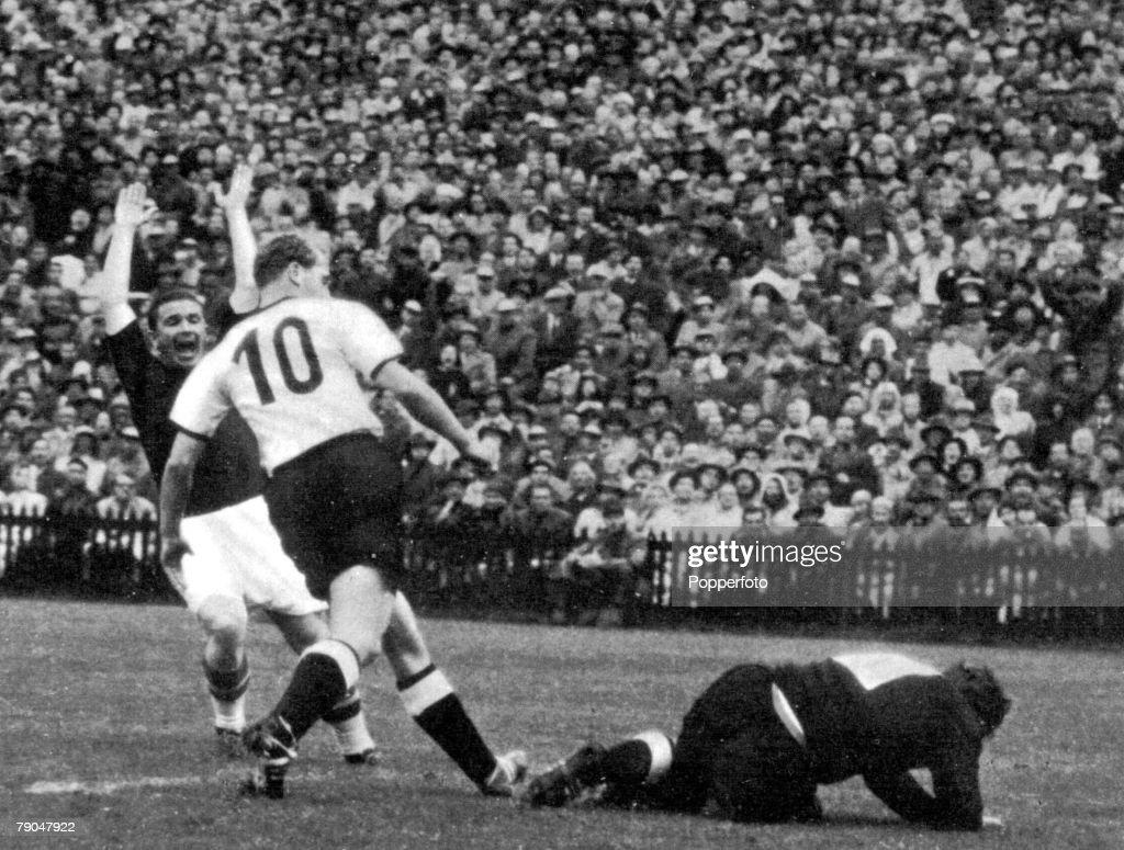 World Cup Final 1954 Berne Switzerland 4th July 1954 West